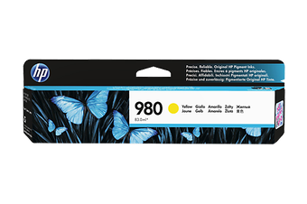 HP 980 D8J09A Yellow Ink Cartridge