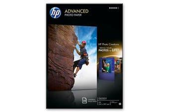 HP Advanced Glossy Photo Paper-25 Sht/A4/210 X 297 Mm