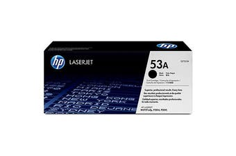 HP 53A Black Toner 3,000 Page Yield