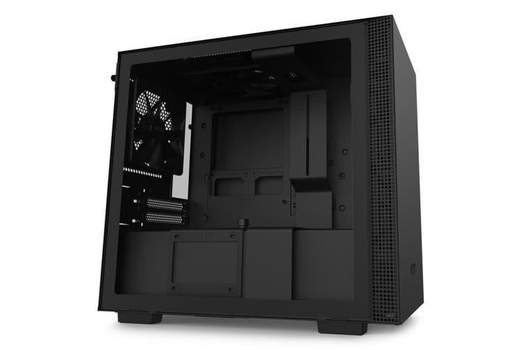 NZXT H210 Tempered Glass Mini-ITX Case - Black