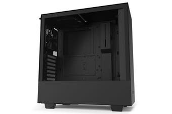 NZXT H510 Tempered Glass Mid-Tower ATX Case - Black [CA-H510B-B1]
