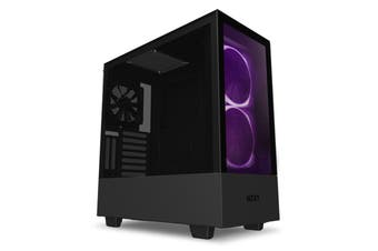 NZXT H510 Elite Tempered Glass Mid-Tower ATX Case - Black  [CA-H510E-B1]