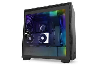 NZXT H710i Tempered Glass ATX Case - Black [CA-H710i-B1]