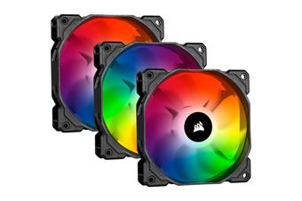Corsair iCUE SP120 RGB PRO Performance 120mm Triple Fan Kit with Lighting Node CORE [CO-9050094-WW]