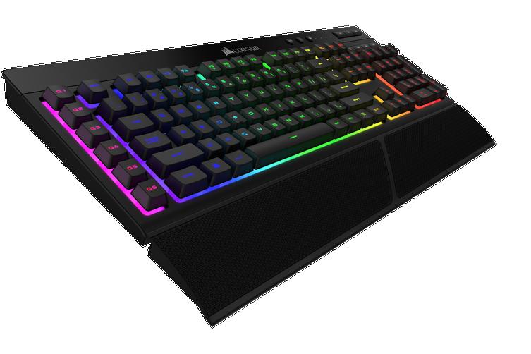 Corsair K57 RGB Wireless Keyboard - Black [CH-925C015-NA]