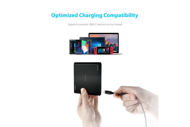 MBeat Gorilla Power 80W 5-Port USB-C and QC 3.0 Charger