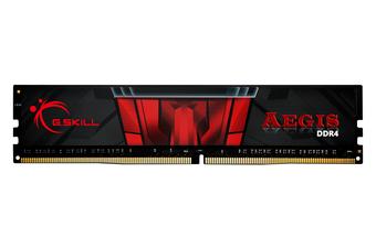 G.Skill Aegis 8GB DDR4 2666Mz DIMM Gaming Memory [F4-2666C19S-8GIS]