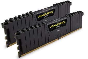 Corsair Vengeance LPX 16GB(2x8) DDR4-3600 DIMM RAM - Black [CMK16GX4M2D3600C18]