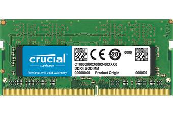 Crucial 8GB(1x8) DDR4-3200 SODIMM RAM [CT8G4SFS832A]