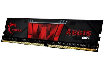 G.Skill Aegis 8GB DDR4-3200 DIMM [F4-3200C16S-8GIS]