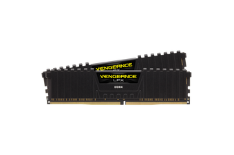 Corsair Vengeance LPX 16GB (2x8) DDR4-3600 Black [CMK16GX4M2Z3600C18]