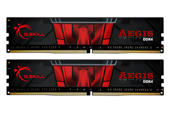 G.Skill Aegis 16GB(2x8GB) DDR4-3200 DIMM [F4-3200C16D-16GIS]