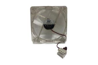 WideTech 140mm Neon Blue LED Fan - Clear [WT-DF14025]