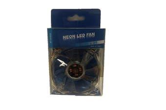 WideTech 80mm Neon 4 Colours LED Fan - Clear [WT-DF8025-4LED]