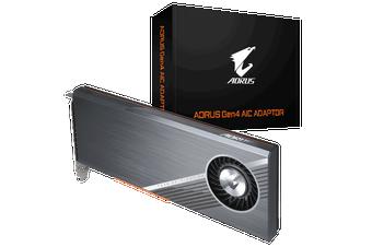 Gigabyte AORUS Gen 4 PCIe AIC SSD Adaptor