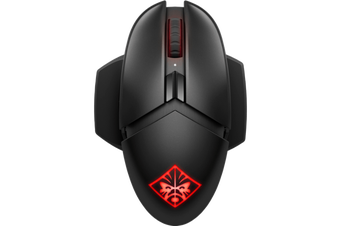 HP OMEN Photon Wireless Gaming Mouse - Support Qi Wireless Charging [6CL96AA]
