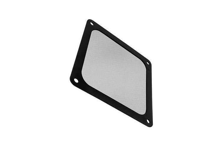 Silverstone 120mm Ultra Fine Magnetic Fan Filter 3-Pack - Black