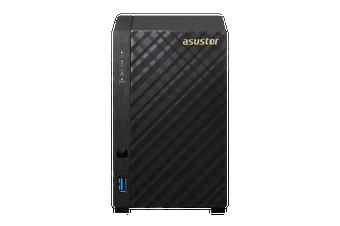 Asustor 2-Bay Marvell ARMADA-385 Dual Core NAS [AS1002TV2]