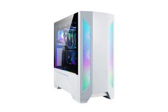 Lian Li LANCOOL II-W Mid-Tower E-ATX RGB Tempered Glass Side Case - White [LAN2W]
