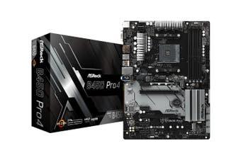 AsRock B450-PRO4 AM4 ATX Motherboard