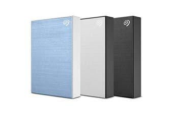 Seagate 5TB Backup Plus Portable External Hard Drive (HDD) - Silver [STHP5000401]