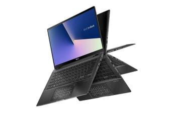 "Asus ZenBook Flip 14"" FHD Touch Laptop, i5-10210U/UMA/8GB/512GB SSD/W10 - Gun Grey"