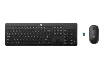 HP Pavilion Wireless Keyboard and Mouse 6000 - Black