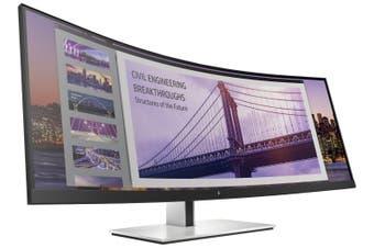 "HP 5FW74AA S430C 43.4"" Curved 4K UHD Monitor"