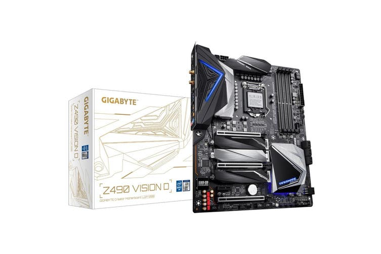 Gigabyte Z490 Vision D LGA 1200 ATX Motherboard