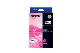 Epson 220 STD Capacity Durabrite Ultra Magenta Ink