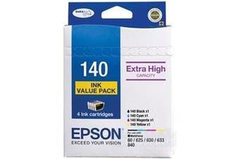 Epson 140 DURABrite Ultra - Colour 4 Pack Ink Cartridge