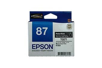 Epson 87 - UltraChrome Hi-Gloss2 - Photo Black Ink Cartridge