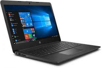 "HP 3N480PA 245 G7 14"" HD Laptop, AMD A4-9125/8GB/256GB/W10H"