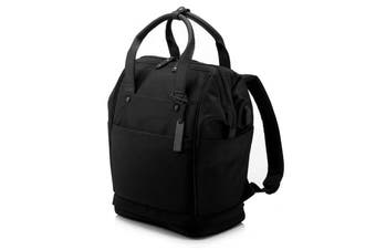 """HP 5KN27AA Trend Convertible 14.1"""" Tote Backpack - Black"""