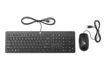 HP Slim USB Keyboard and Mouse Combo