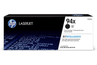 HP 94X Black LaserJet Toner Cartridge