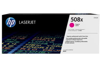 HP 508X Magenta LaserJet Toner Cartridge