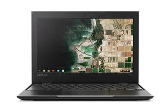 "Lenovo 100E Chromebook 2nd Gen 11.6"" HD Laptop, Celeron, 4GB RAM, 32GB eMMC, Chrome OS [81MA000SAU]"