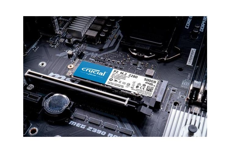 Crucial P2 500GB M.2 NVMe PCIe SSD [CT500P2SSD8]