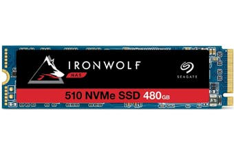 Seagate Ironwolf 510 480GB M.2 NVMe 1DWPD SSD ZP480NM30011