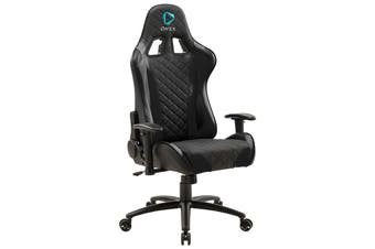 ONEX GX330 Series Faux Leather Gaming Chair - Black [ONEX-GX330-B]