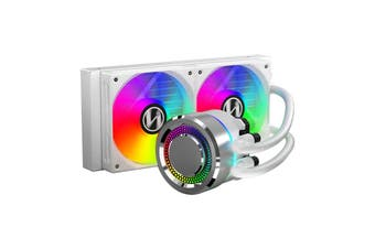 Lian Li Galahad 240 Closed Loop ARGB All-In-One Liquid CPU Cooler - Silver [GA240A]