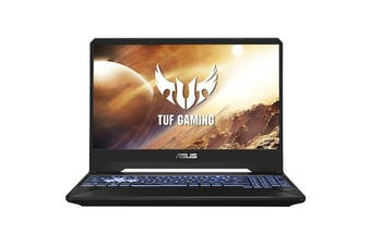 "Asus TUF FX505DT Gaming Laptop, 15.6"" 144Hz, R5-3550H, 8GB RAM, 512GB SSD + 1TB HDD, GTX1650, Windows 10 Home [FX505DT-HN462T]"