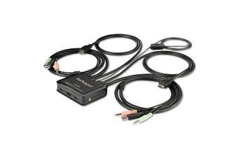 Startech 2-Port HDMI KVM Switch [SV211HDUA4K]