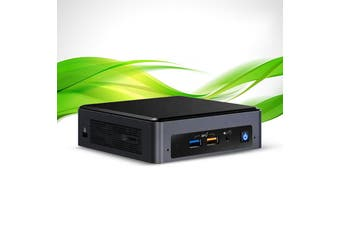 JW i3 Intel NUC Mini Office PC -Intel Core i3, 240GB SSD, 8GB RAM, Windows 10 [JW-I3-NUC]