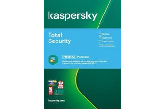 Kaspersky Total Security 1 Device 1-Year AntiVirus Software [KL1949EOAFS]