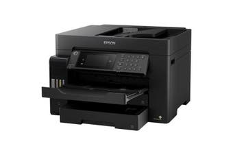 Epson EcoTank ET-16600 Wireless Colour Inkjet Multi-Function Printer (Print/Scan/Copy/Fax) [C11CH72501]