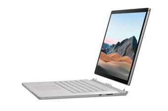 "Microsoft Surface Book 3 Hybrid (2-in-1) 15"" Laptop, i7-1065G7, 16GB, 256GB SSD, GTX1660Ti, Windows 10 Professional - Platinum [SMG-00015]"