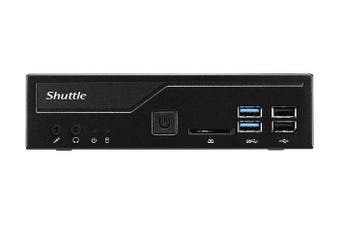 Shuttle Slim DH310V2 PC/Workstation Barebone 1L Sized PC Intel H310 LGA 1151 (Socket H4) - Black