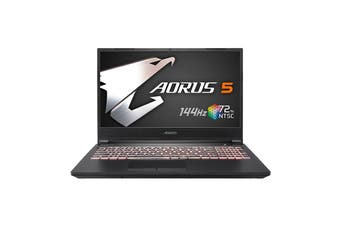"Gigabyte AORUS 5 MB-5AU1130SH Gaming Laptop,15.6""FHD 144Hz, i5-10200H, 16GB RAM, 512GB SSD, GTX1650Ti, Windows 10 Home [AORUS-5-MB-5AU1130SH]"